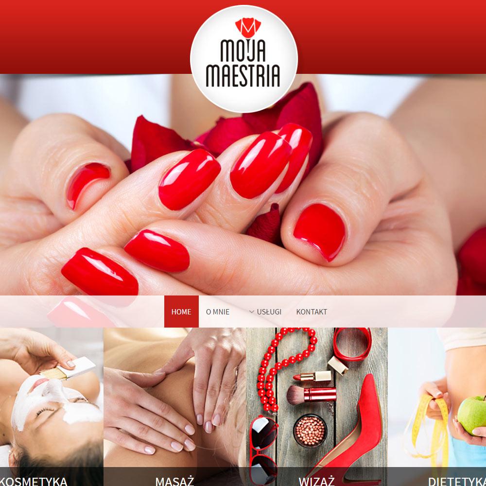Strona internetowa – www.mojamaestria.pl