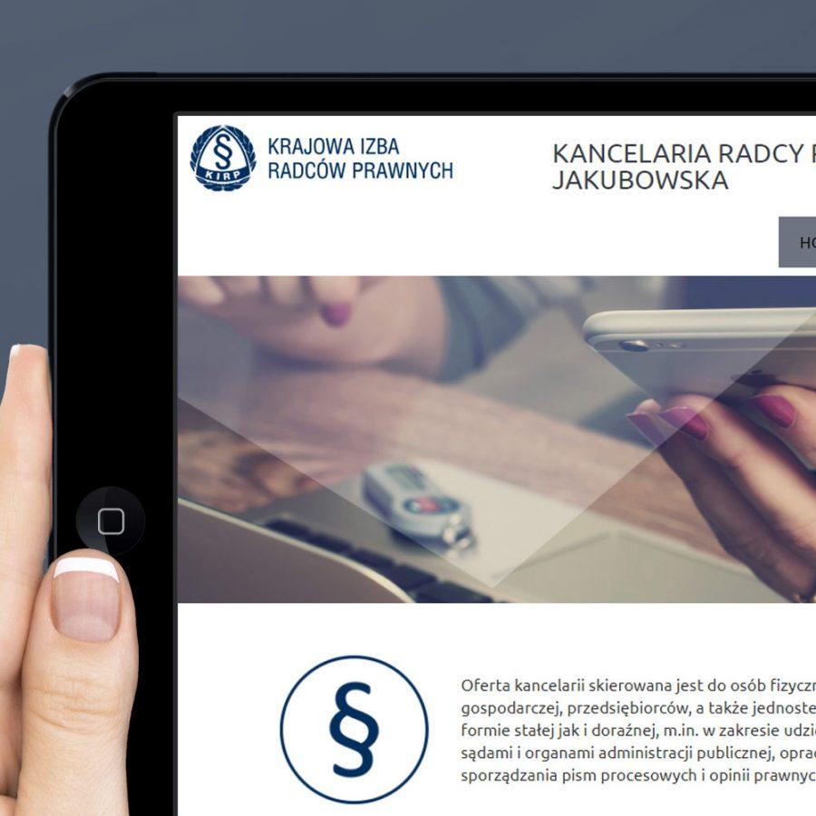 Strona internetowa – www.moscicka.pl