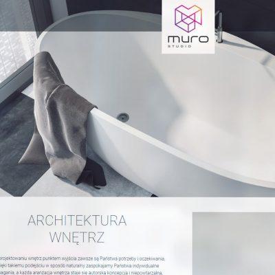 Strona internetowa – www.murostudio.pl