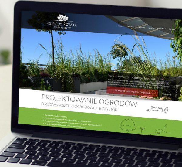 Strona internetowa – www.ogrody-swiata.pl
