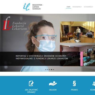 Strona internetowa – www.oilbialystok.pl