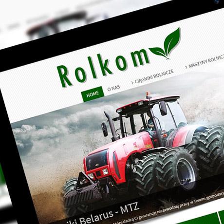 Strona  internetowa – www.rol-kom.pl
