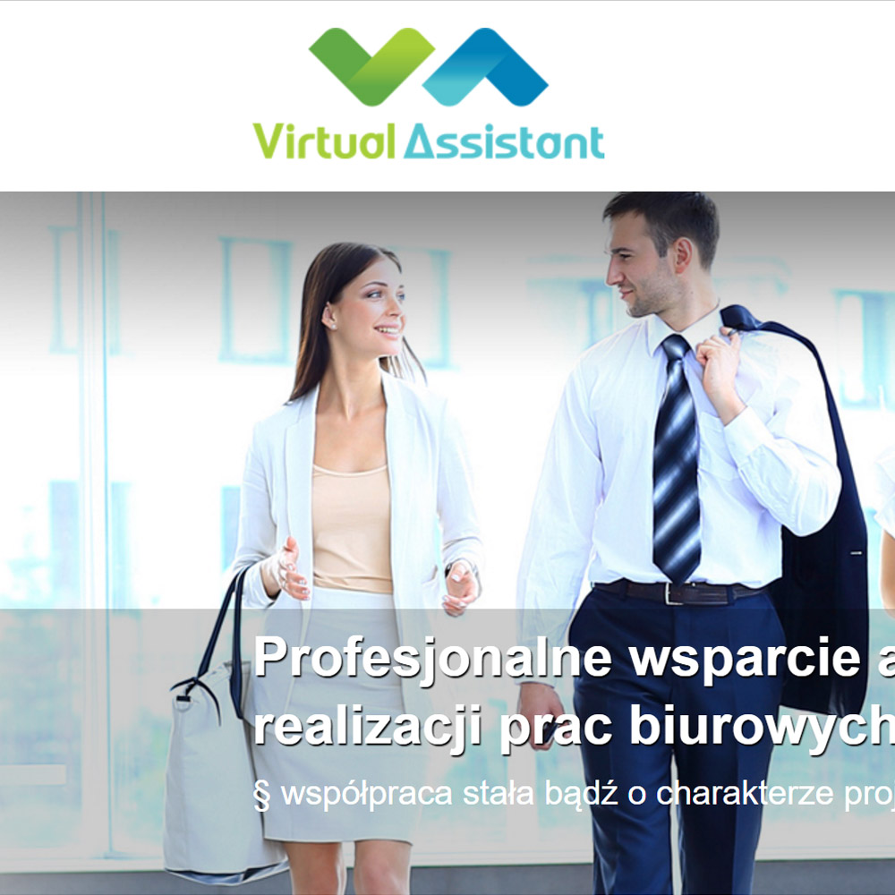 Strona internetowa – www.virtual-assistant.pl