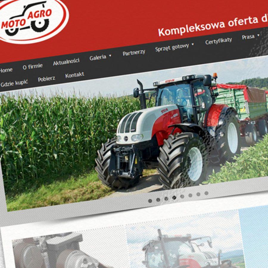 Strona internetowa – www.moto-agro.pl