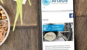 Strona internetowa – www.artedapralnia.pl