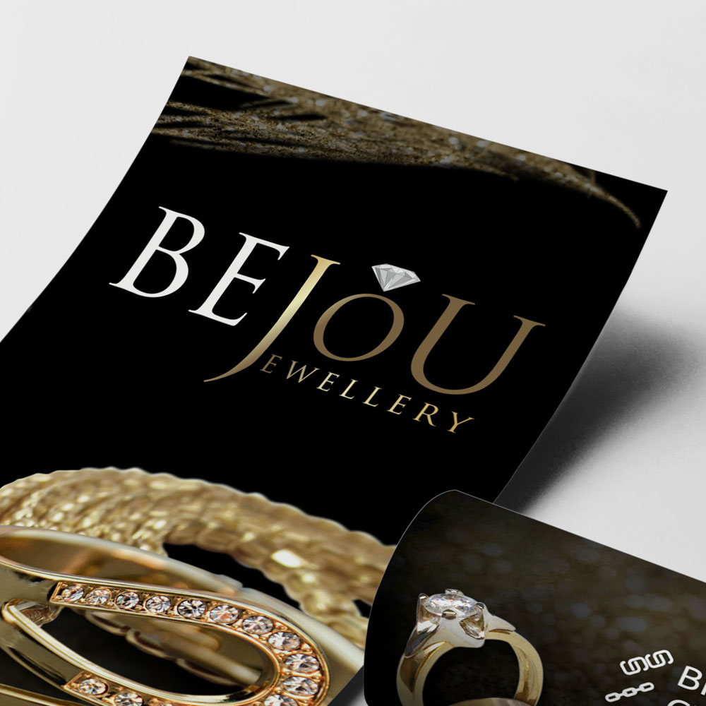 Projekt ulotki – Bejou Jewellery