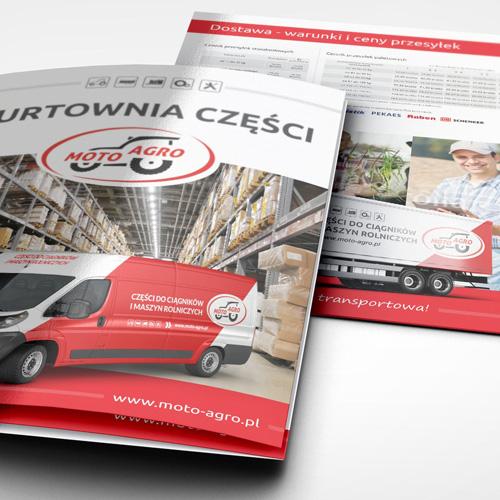 Moto Agro - Projektowanie ulotek - Białystok, Warszawa