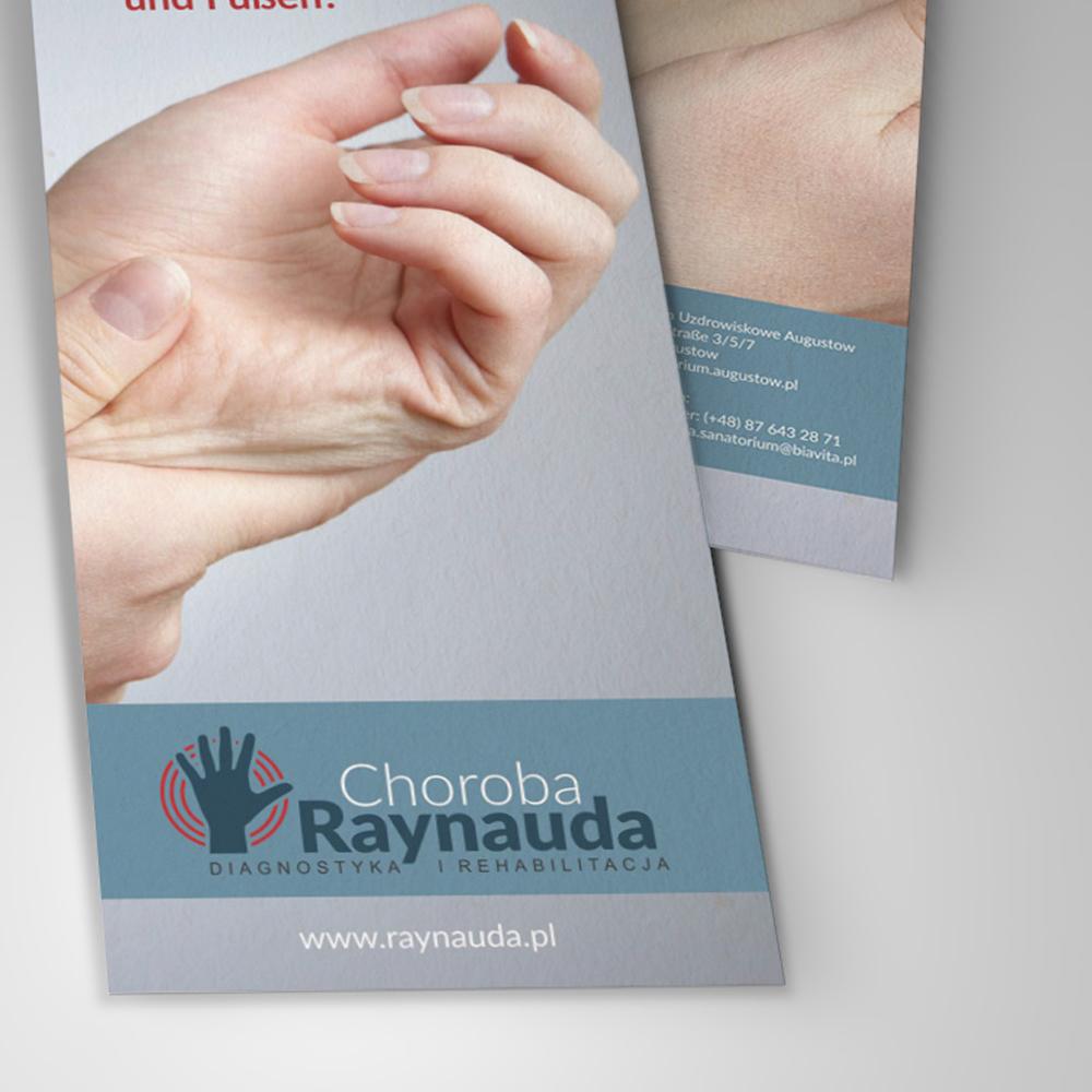 Projekt ulotki – Choroba Reynauda