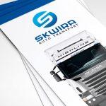 Skwira Auto Transport - Projektowanie ulotek - Białystok