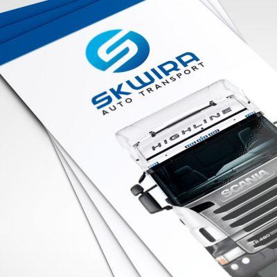 Projekt ulotki – Skwira Auto Transport
