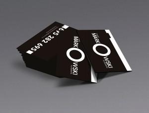 Projekt wizytówki - Tomasz Markowski