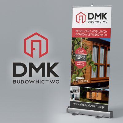 Rollup – DMK Budownictwo   Projekt graficzny i druk