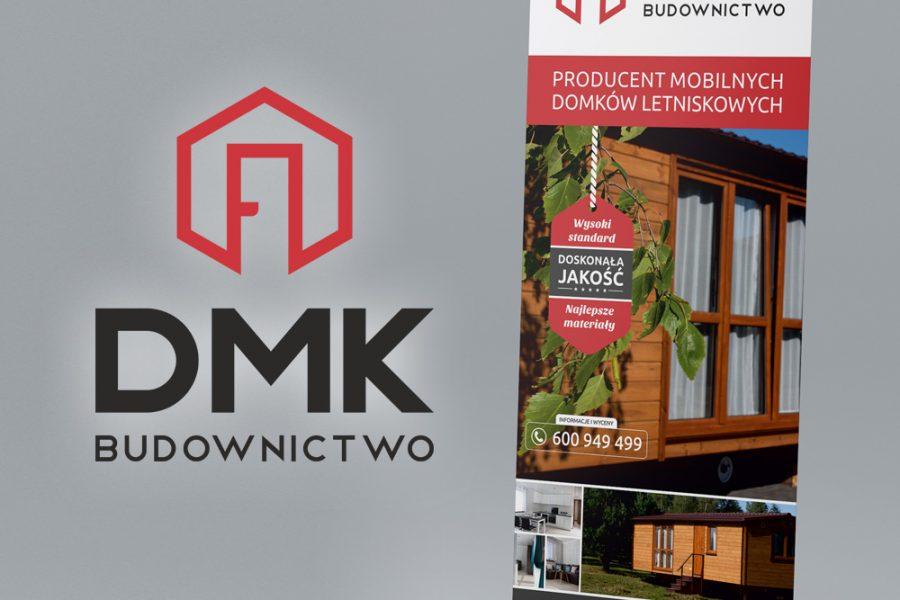Rollup – DMK Budownictwo | Projekt graficzny i druk