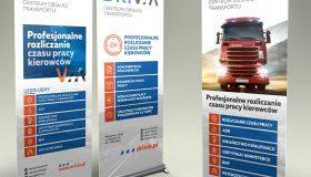 Rollup – Drivia Centrum Obsługi Transportu | Projekt graficzny i druk
