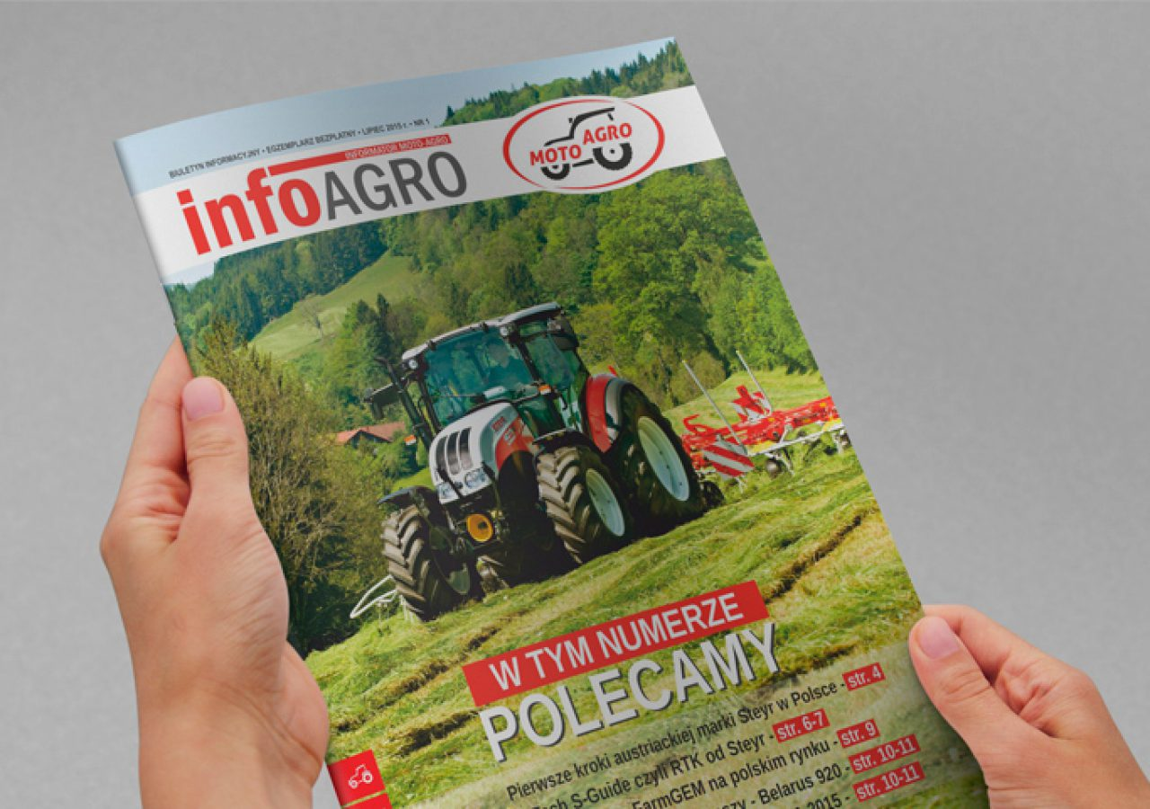 Moto-Agro - Projektowanie biuletynu - Projekt informatora - Białystok