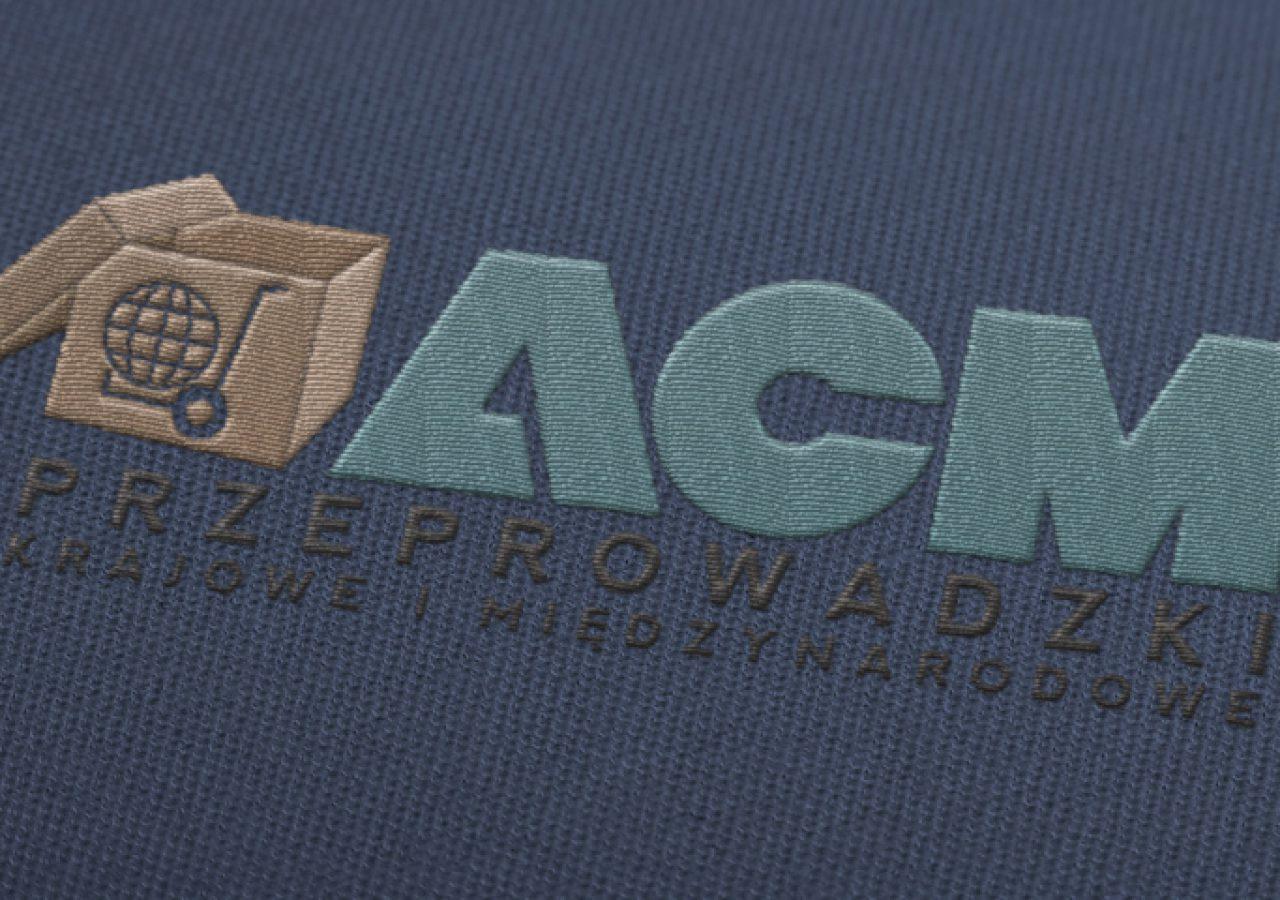 ACM Przeprowadzki - Projekt logo - Białystok - Warszawa