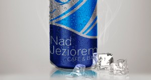 Nad Jeziorem Cafe & Bar - Projekt logo - Białystok - Warszawa