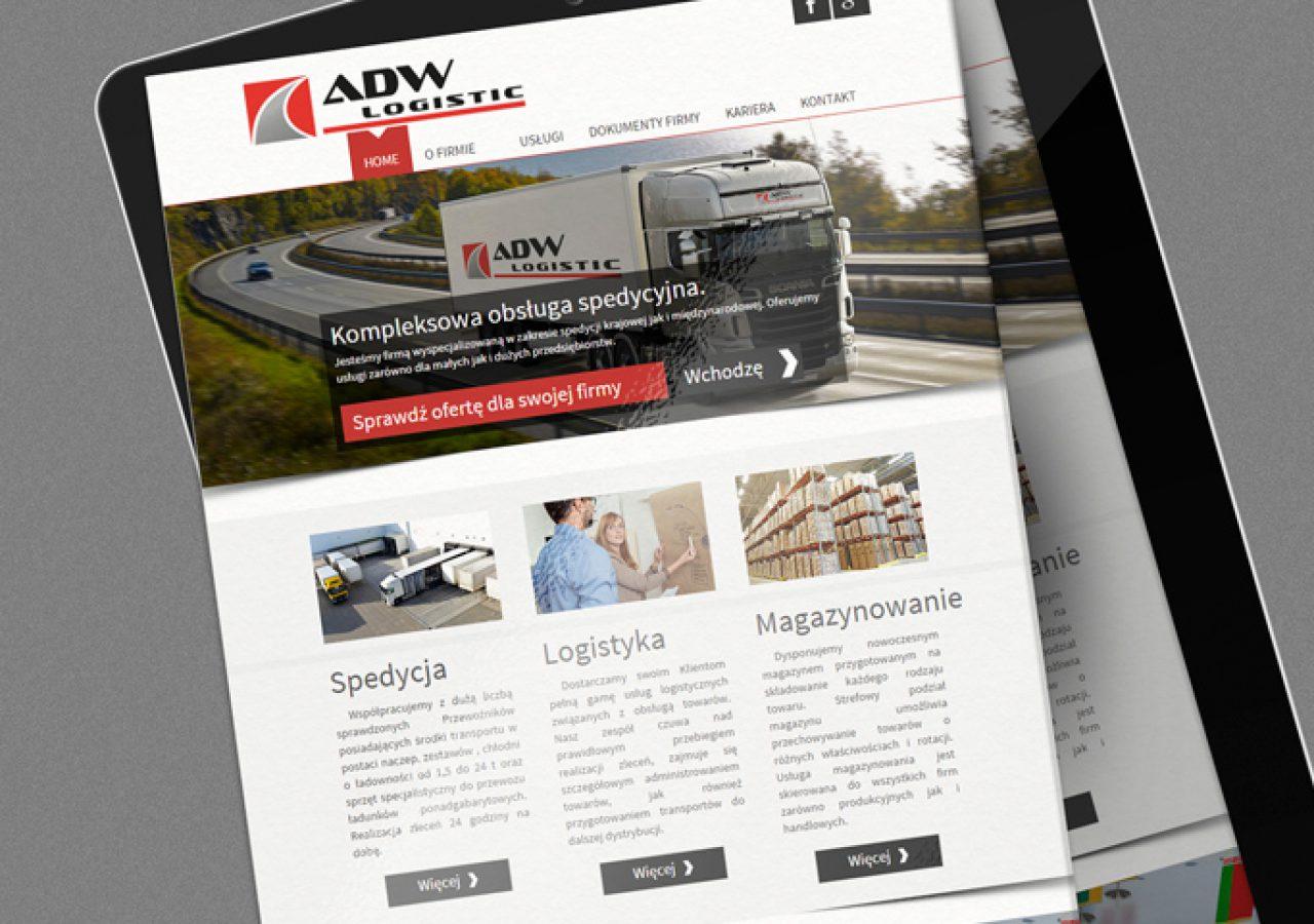 ADW Logistic - Strony internetowe - Białystok