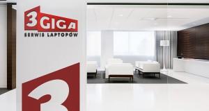 Wizualizacja projektu logo 3Giga Serwis Laptopów - no 006