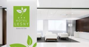Hotel Leśny - Projekt logo - Białystok - Warszawa